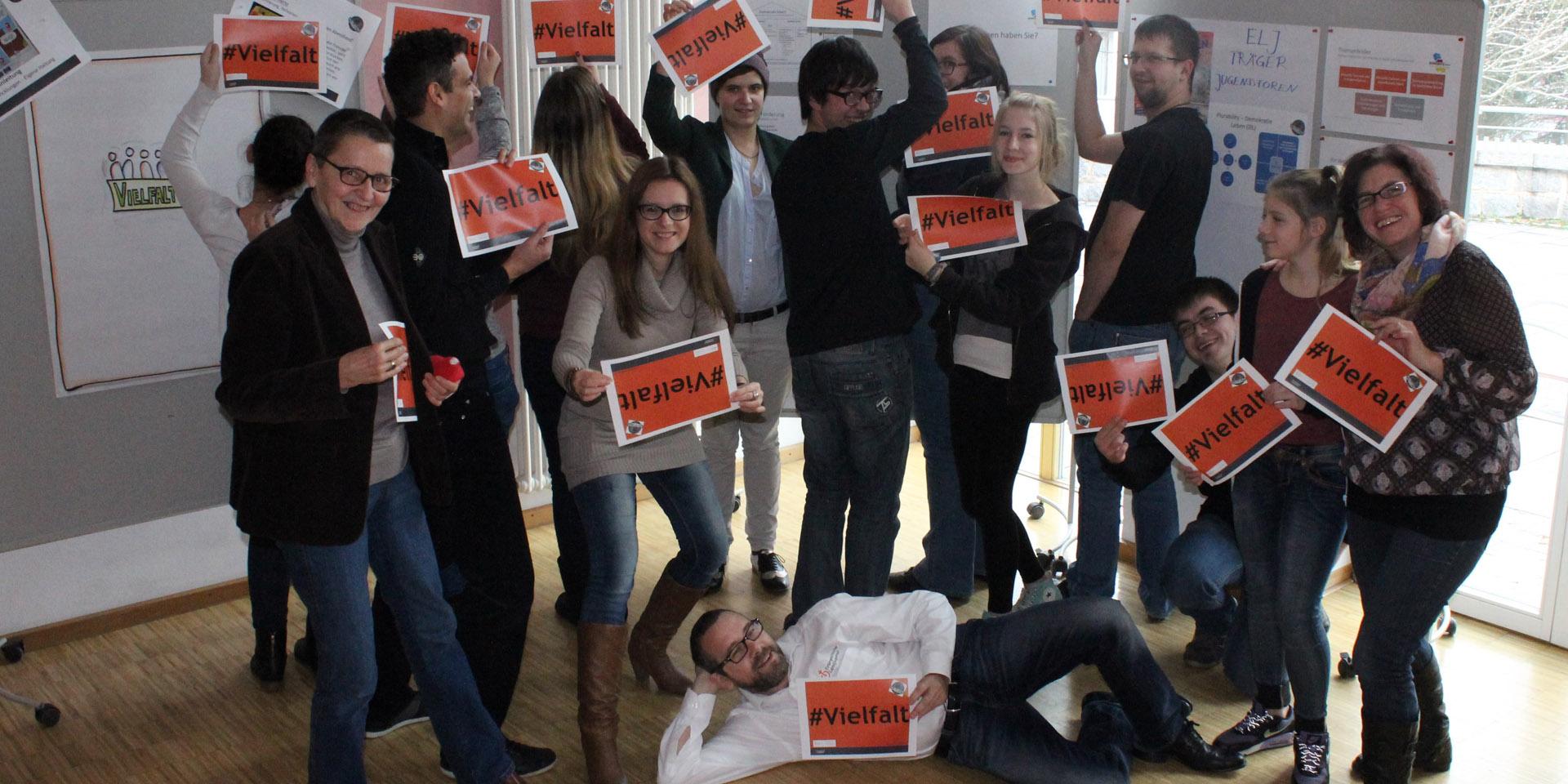 Gruppenbild des elj Jugendforums